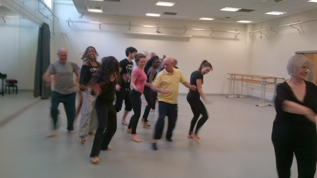 A visit to Middlesex University dance department  - Simona Scotto