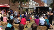 Disco Dance & Counterpoint at Whitecross Street Party